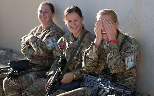 Các nữ chiến binh người Anh