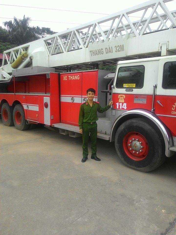 Thủ khoa trường Phòng cháy