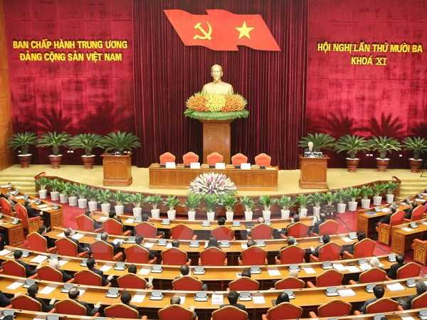 Hội nghị lần thứ 13 Ban Chấp hành Trung ương Đảng khóa XI.