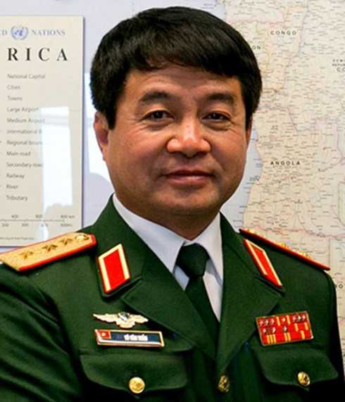 Phó Tổng Tham mưu trưởng Quân đội Nhân dân Việt Nam Võ Văn Tuấn.