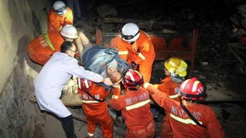 Khoảng 17 người đã được cứu thoát cho tới thời điểm hiện tại