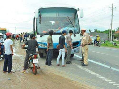 Vụ tai nạn khiến 1 người tử vong tại chỗ (Ảnh minh hoạ)
