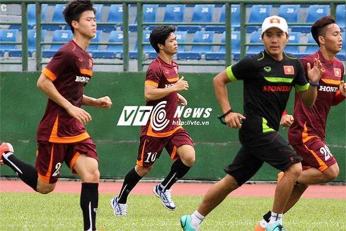 Đây cũng có thể là tính toán điểm rơi phong độ các cầu thủ của HLV Miura cùng BHL U23 Việt Nam