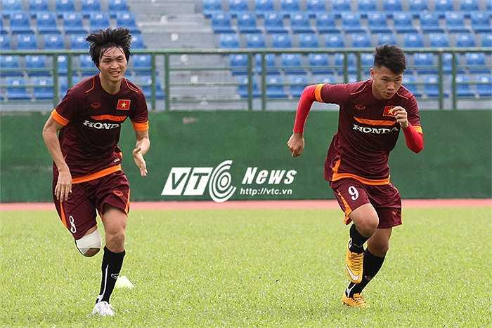 Tuấn Anh, Văn Thành tích cực tập hồi phục, hi vọng kịp lấy lại trạng thái sung mãn nhất trước thềm VCK U23 châu Á
