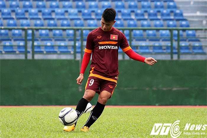 Văn Thành bị chấn thương cổ chân từ sau trận bán kết U21 báo TN Việt Nam - U21 HAGL JMG tại giải U21 Quốc tế