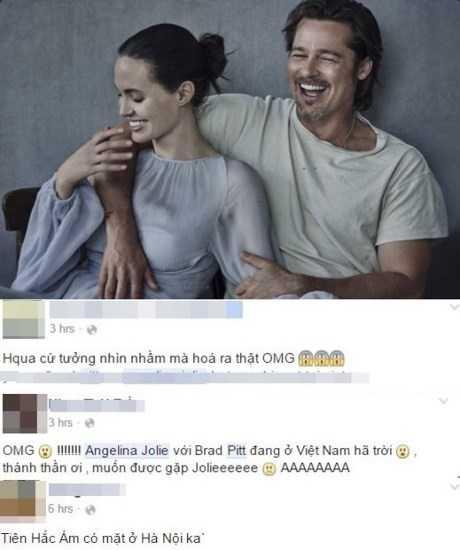 Cư dân mạng phấn khích khi biết tin cặp vợ chồng ngôi sao Hollywood ghé thăm Việt Nam