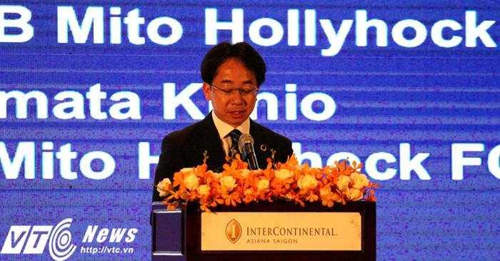 Chủ tịch CLB Mito Hollyhock sung sướng vì có chữ ký của Công Phượng