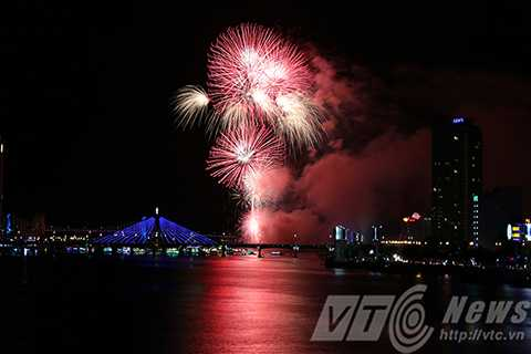 Đà Nẵng, bắn pháo hoa trên biển, Phạm Văn Đồng, chào năm mới, năm 2016