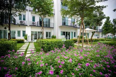 1 góc không gian xanh tại ParkCity Hanoi