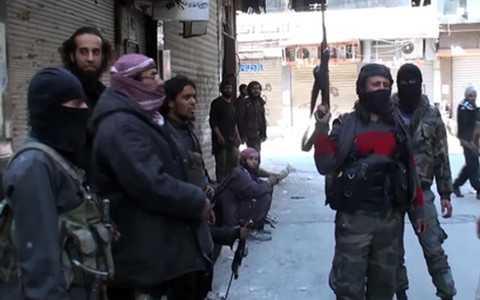 Các tay súng của IS tại Syria