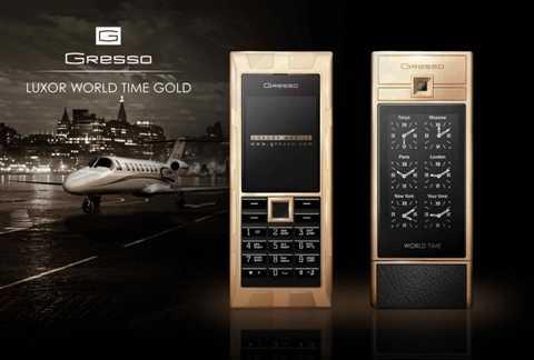 Gresso Luxor Las Vegas Jackpot - 1 triệu USD. Kim cương đen 45K ở mặt trước, Gỗ đen châu Phi 200 tuổi quý hiếm ở phía sau và phần cạnh dày 12mm làm bằng vàng nguyên chất đã đủ để khiến người ta phải móc túi 1 triệu USD cho chiếc điện thoại này chưa?