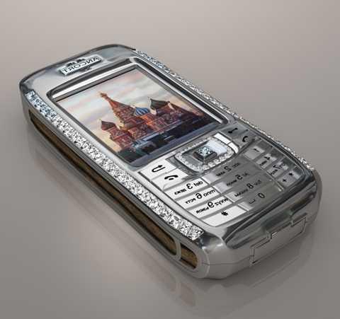 Diamond Crypto Smartphone - 1,3 triệu USD. Nếu bạn là một tín đồ của kim cương thì chắc hẳn bạn không thể bỏ qua chiếc điện thoại lấp lánh này. Nó có được sự lấp lánh ấy nhờ vào 50 viên kim cương được gắn ở hai mặt, trong đó có 10 viên kim cương xanh loại quý hiếm đặc biệt