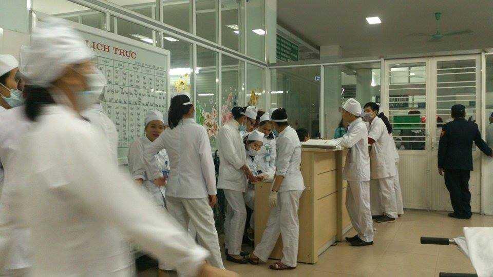 Toàn bộ các bác sỹ được điều động (Ảnh: M.Khang)