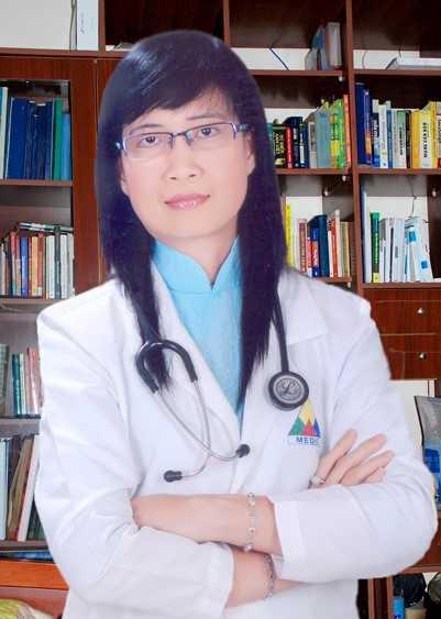 TS.BS Phạm Thị Thu Thủy, Trưởng khoa Gan, Trung tâm Y khoa Medic (Hòa Hảo) (hình do BS Thu Thuỷ cung cấp)