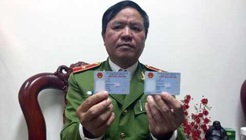 """Thiếu tướng Trần Văn Vệ """"CMND và thẻ Căn cước có giá trị sử dụng như nhau"""""""