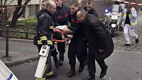 Vụ tấn công trụ sở của Charlie Hebdo là vụ xả súng diễn ra ngày 7 tháng 1 năm 2015 tại trụ sở tuần báo trào phúng Charlie Hebdo ở số 10 phố Nicolas-Appert, quận 11, Paris, Pháp. Vụ xả súng khiến 12 người thiệt mạng, 11 người khác bị thương