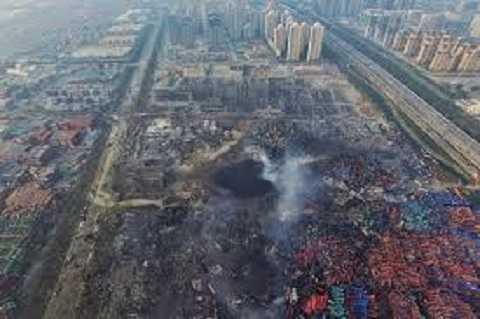 Ngày 12/8/2015, một vụ nổ kép xảy ra tại một kho chứa hóa chất ở Tân Hải Thiên Tân, Trung Quốc khiến ít nhất 110 người chết, nhiều người khác bị thương. Vụ nổ đã tàn phá một số lượng lớn hàng hóa được chứa ở các kho tại và quanh cảng ở Quận Tân Hải. Một khu đậu <a href='http://vtc.vn/oto-xe-may.31.0.html' >xe hơi</a> chứa vài ngàn chiếc xe đã bốc cháy hoàn toàn, gây ô nhiễm môi trường nghiêm trọng