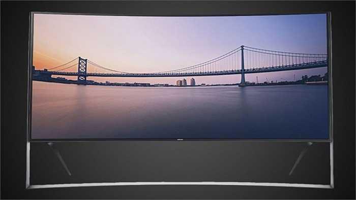 10. Samsung UN105S9 Curved 105-inch 4K Ultra HD 120Hz 3D Smart  LED TV: 120 000 USD. Màn hình cong 105 inch khổng lồ cùng công nghệ Ultra HD của chiếc Samsung UN105S9 biến chính căn nhà bạn như một rạp chiếu phim mini. Màn hình siêu nét độ phân giải 8 triệu pixel cho người xem cảm giác vô cùng chân thật.