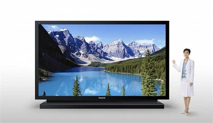 5. Panasonic 152-inch Plasma TV: 500 000 USD. Kích thước và trọng lượng khổng lồ của chiếc Panasonic Plasma có lẽ là điều duy nhất khiến bạn băn khoăn liệu có mua nó bởi chất lượng hình ảnh và độ phân giải của chiếc TV 152 inch này đều thực sự tuyệt vời và đáng nhớ.