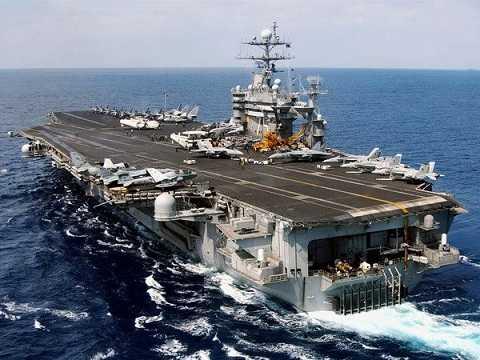 Tàu sân bay USS Harry S Truman của Mỹ