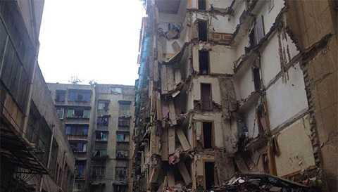 Khu chung cư bê tông cốt xốp ở Quý Châu