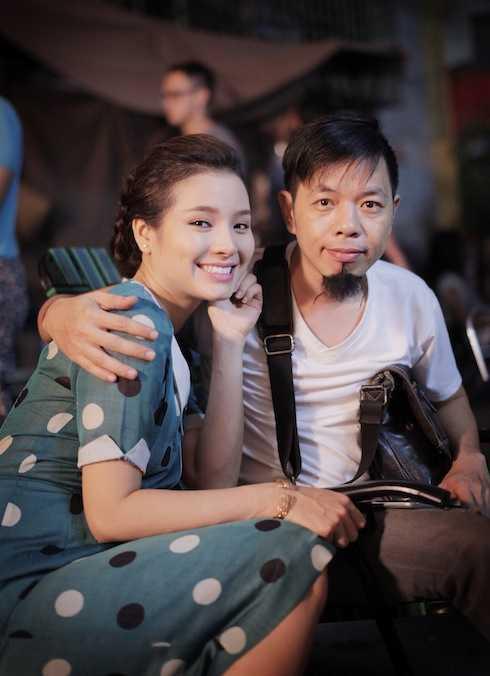 Thái Hoà và Jolie Phương Trinh.