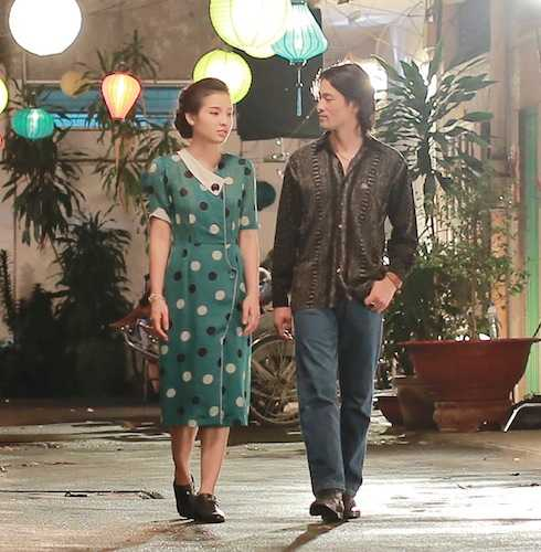Cảnh Johnny Trí Nguyễn tỏ tình với Jolie Phương Trinh.