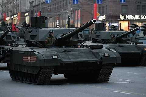"""Xe tăng bánh xích hạng nặng """"Armata"""""""