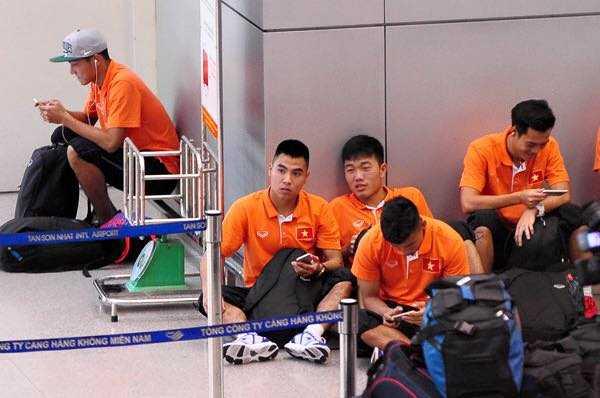 U23 Việt Nam đã tới Qatar