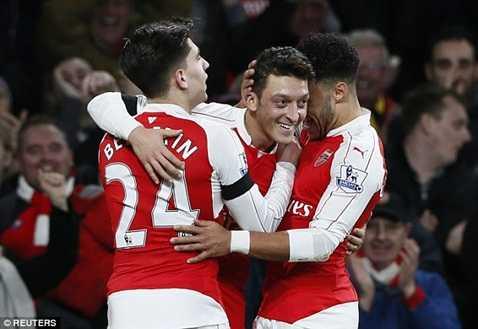 Arsenal có rất nhiều cơ hội đăng quang mùa này