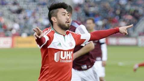 Lee Nguyễn còn 1 năm hợp đồng với đội bóng chủ quản England Revolution