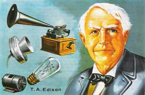 Ông tổ bóng đèn Thomas Edison