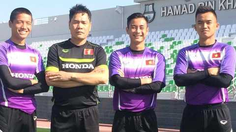 U23 Việt Nam đã có mặt ở Qatar