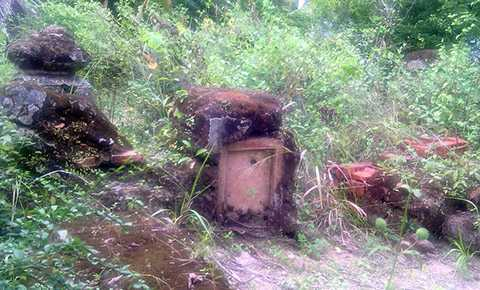 Toàn cảnh ngôi mộ cổ.