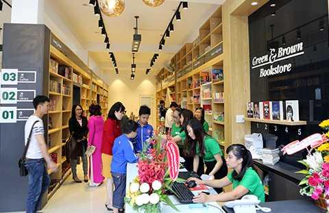 Green & Brown Bookstore, Nhà sách, Đà Nẵng, văn hóa đọc
