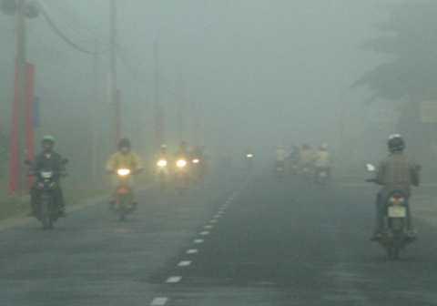 Thủ đô Hà Nội và nhiều địa phương xuất hiện sương mù vào sáng sớm - Ảnh minh họa