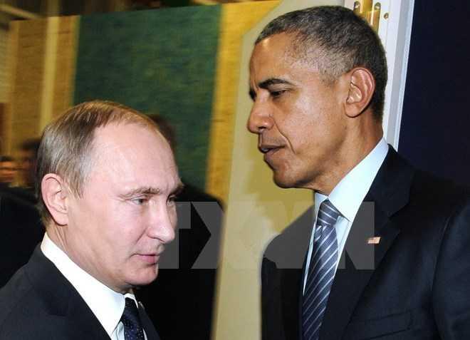 Tổng thống Nga- Mỹ tại một cuộc hội đàm kín