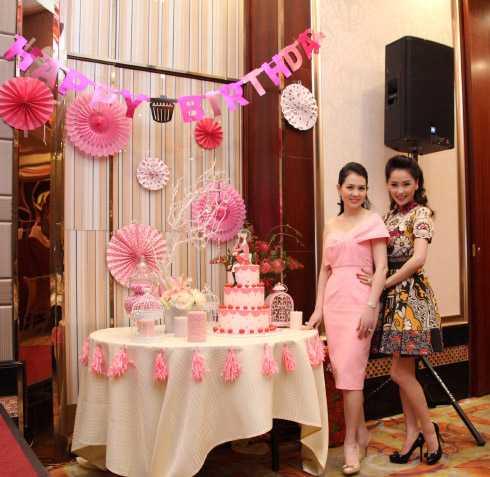 Thái Như Ngọc, Hà Kiều Anh mừng sinh nhật diễn viên Kim Thoa