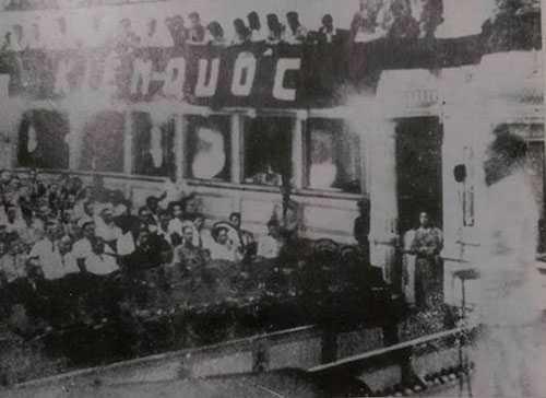 Quang cảnh kỳ họp thứ hai, Quốc hội khóa 1 kéo dài 13 ngày cuối năm 1946. Ảnh tư liệu.