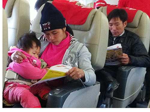 Người dân trong năm 2015 đã có thêm nhiều cơ hội sử dụng phương tiện đi lại là máy bay do giá vé đã được điều chỉnh linh hoạt