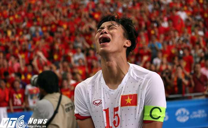 Hình ảnh này sẽ lặp lại ở VCK U23 châu Á sắp tới đây? (ảnh: Phạm Thành)