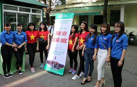 Đà Nẵng, Ngàn sinh viên, mít tinh, Sinh viên với đất nước, ĐH Đông Á