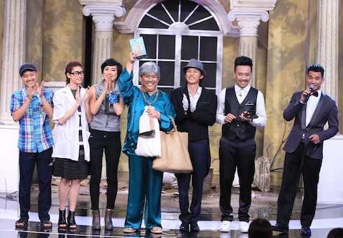 diễn viên hài Gia Bảo đã xuất sắc giành cúp 'Ơn giời, cậu đây rồi'