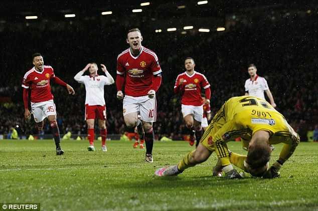 Man Utd nhọc nhằn thắng ở FA Cup