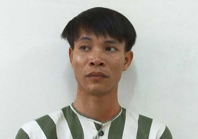 Phạm Văn Thảo tại cơ quan điều tra. Ảnh: N.T