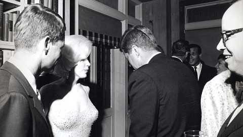Mối tình ngắn ngủi của  Marilyn Monroe và cựu tổng thống Kennedy
