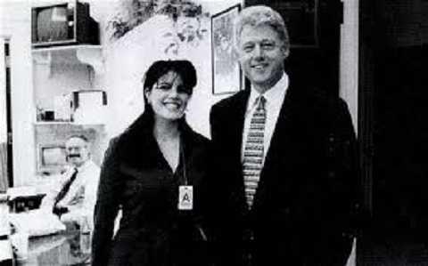 Cựu tổng thống Tổng thống Bill Clinton và Lenwinsky
