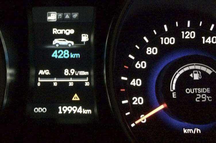 """Chiếc Hyundai SantaFe """"nội"""" sau khi đã lăn bánh 20.000km"""