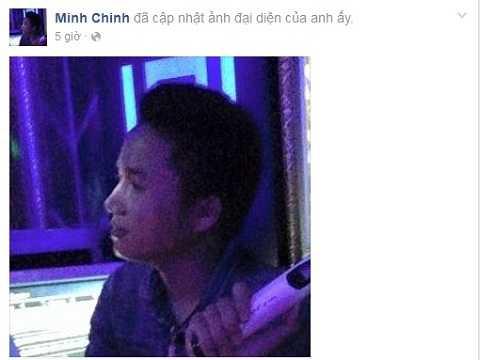 Trong khi đang vắng nhà, hỉnh ảnh đại diện trên facebook Minh Chinh được thay đổi trong ngày 10/1, những bài viết mua bán động vật hoang dã đã xóa gần hết.