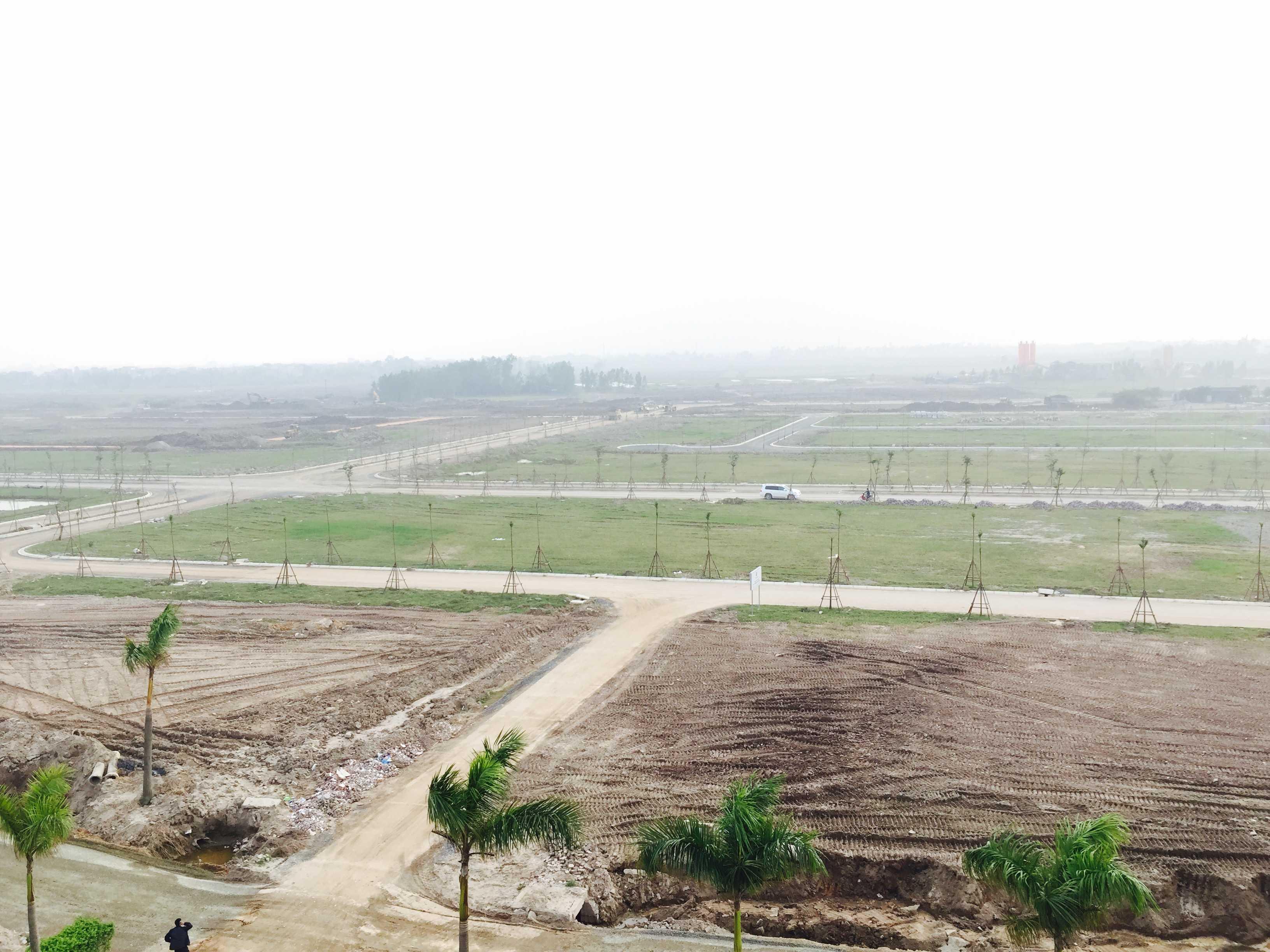 Dự kiến cuối năm 2016, người dân sẽ được nhận đất để xây nhà